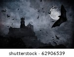 halloween background | Shutterstock . vector #62906539