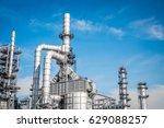 industrial zone the equipment... | Shutterstock . vector #629088257