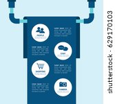 vector illustration infographic ... | Shutterstock .eps vector #629170103