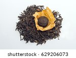 Small photo of loose and pressed tea