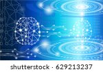 abstract background technology... | Shutterstock .eps vector #629213237