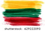abstract painted grunge flag of ... | Shutterstock .eps vector #629222093