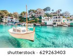 cala figuera  mallorca  spain | Shutterstock . vector #629263403