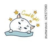 vector illustration of cute...   Shutterstock .eps vector #629277083