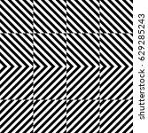vector seamless pattern.... | Shutterstock .eps vector #629285243