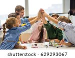 education  children  technology ... | Shutterstock . vector #629293067