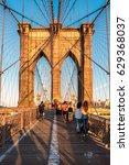 new york city   june 26  people ...   Shutterstock . vector #629368037