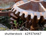 Old And Rusted Cogwheel...