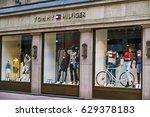 dusseldorf  germany   april 04  ... | Shutterstock . vector #629378183