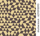 geometric vector pattern with... | Shutterstock .eps vector #629393093