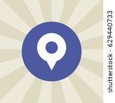 location icon. sign design....