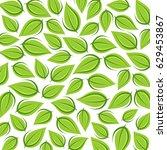 leaves background. vector | Shutterstock .eps vector #629453867