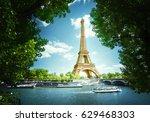 eiffel tower  paris. france | Shutterstock . vector #629468303