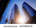 Business Buildings In The...