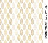 seamless nature vector pattern. ...   Shutterstock .eps vector #629594207