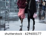 paris march 1  street style... | Shutterstock . vector #629600177