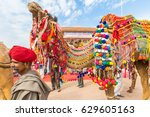 bikaner  india  14th january... | Shutterstock . vector #629605163
