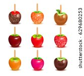Whole Candy Apples Covered In...