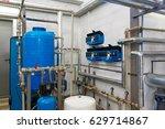 modern water treatment system... | Shutterstock . vector #629714867