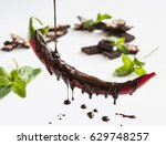 chili pepper in chocolate | Shutterstock . vector #629748257