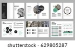 design annual report vector... | Shutterstock .eps vector #629805287