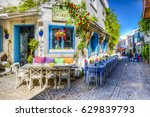 alacati  turkey   april 18 ... | Shutterstock . vector #629839793