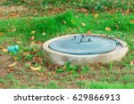 septic tank waste system | Shutterstock . vector #629866913