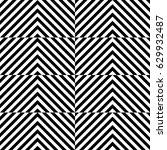 vector seamless pattern.... | Shutterstock .eps vector #629932487