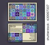 vector business card design...   Shutterstock .eps vector #630007337