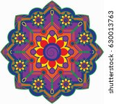 mandala vector illustration....   Shutterstock .eps vector #630013763