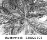 monochrome fractal background... | Shutterstock . vector #630021803
