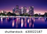 downtown skyscrapers los... | Shutterstock . vector #630022187