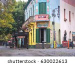 buenos aires april 08  colorful ... | Shutterstock . vector #630022613
