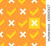 positive symbols. seamless...   Shutterstock .eps vector #630042617