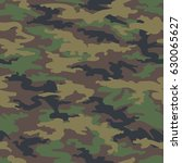 military army camo background.... | Shutterstock .eps vector #630065627