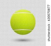 vector realistic flying tennis... | Shutterstock .eps vector #630070877