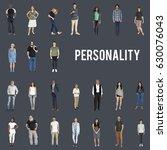 various of diversity people... | Shutterstock . vector #630076043