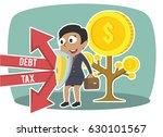 african businesswoman... | Shutterstock . vector #630101567
