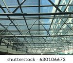 steel and glass as a roof | Shutterstock . vector #630106673