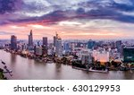 ho chi minh city  aerial view | Shutterstock . vector #630129953
