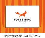 forest fox   the orange fox... | Shutterstock .eps vector #630161987