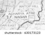 Small photo of Acharya Atre Nagar Station. Mumbai Metro map.