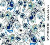 paisley pattern   Shutterstock .eps vector #630288737
