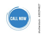 call now logo vector template | Shutterstock .eps vector #630294827