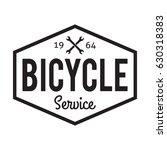 bicycle badge label. bike...