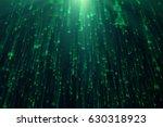3d illustration of binary data...   Shutterstock . vector #630318923