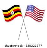 ugandan and american crossed... | Shutterstock .eps vector #630321377