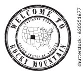 "rubber stamp ""welcome to rocky... 