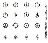 compass set | Shutterstock .eps vector #630357827
