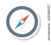 compass  | Shutterstock .eps vector #630360557